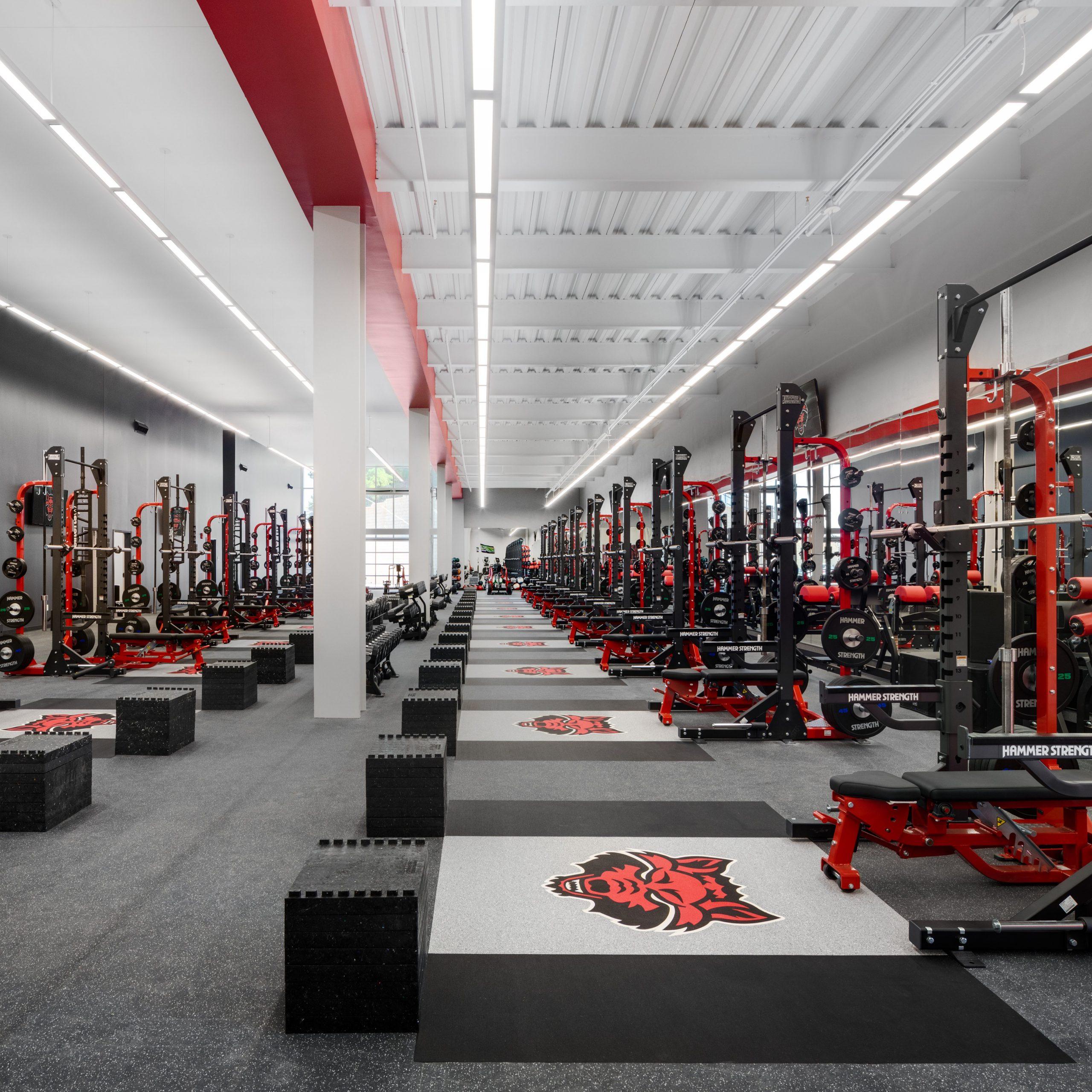 ASU Football opps weight room