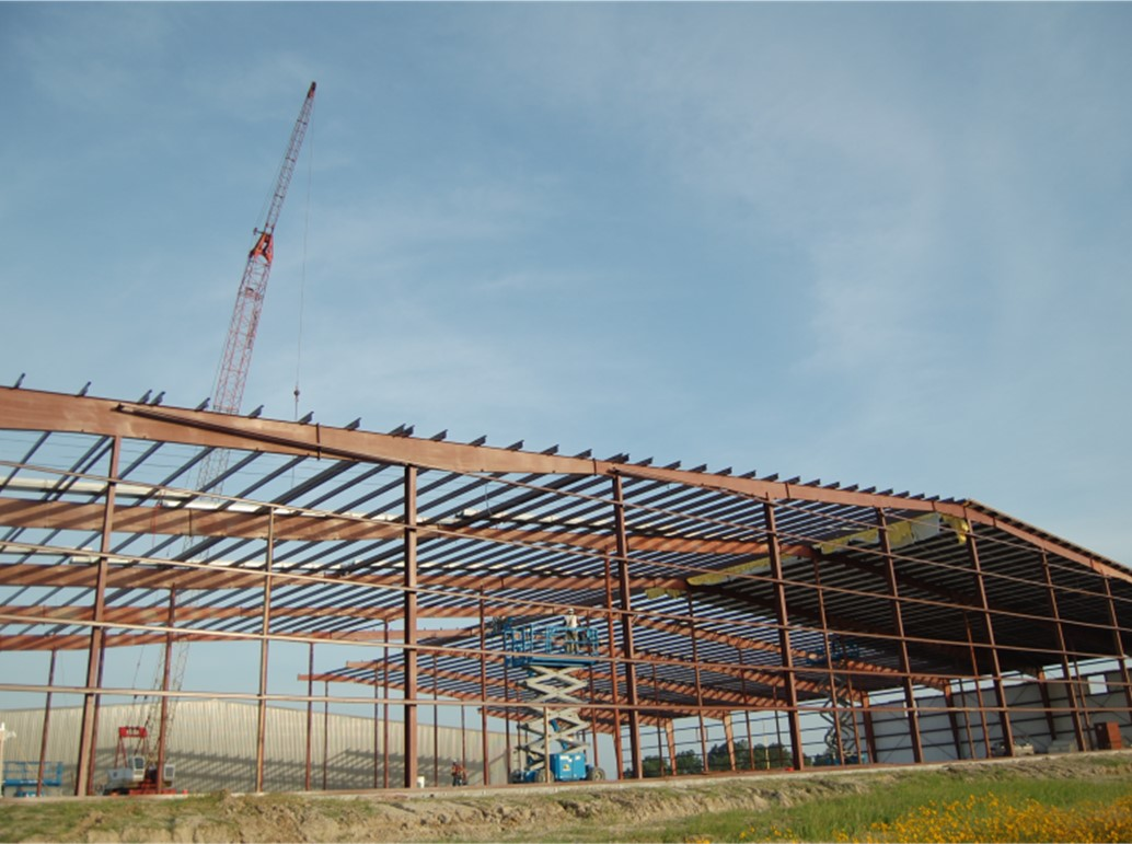 Metal Building Erection